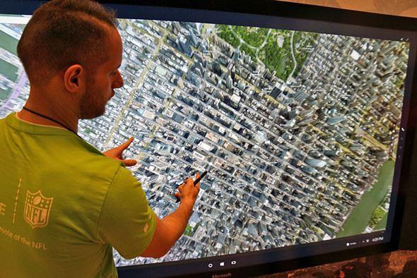 Google Earthの表示