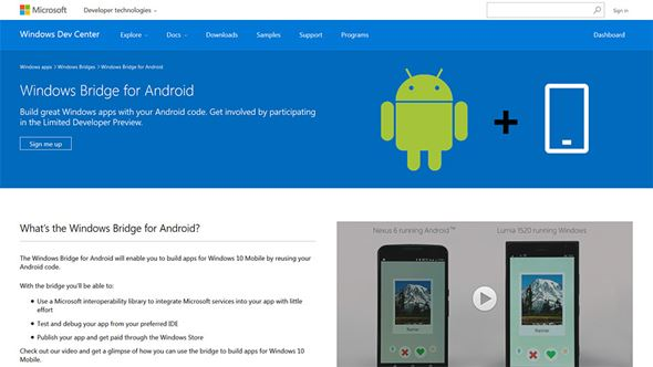 Windows Bridge for Android