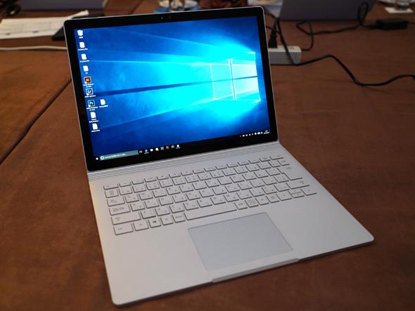 国内モデルの「Surface Book」