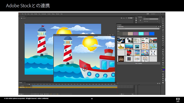 CC���C�u������Adobe Stock�̓���