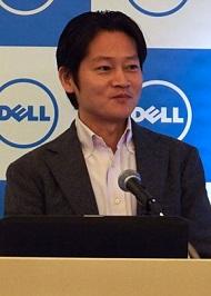ビジネス&コンシューマー事業統括本部ジェネラル・マネージャーの原田洋次氏