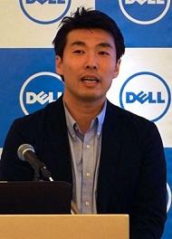 クライアント・ソリューションズ統括本部クライアント製品マーケティング本部本部長の田中源太郎氏