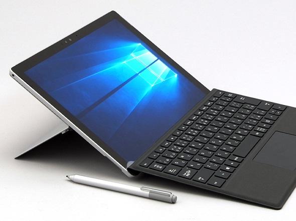 日本マイクロソフトが国内販売する「Surface Pro 4」