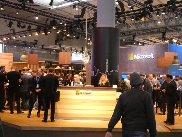 Microsoftブース