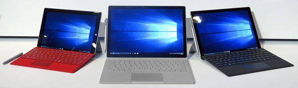 Surfaceシリーズのラインアップ
