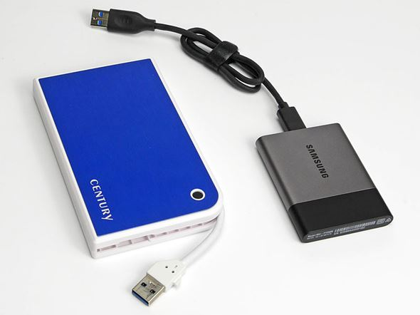 ポータブルSSDとHDDの比較