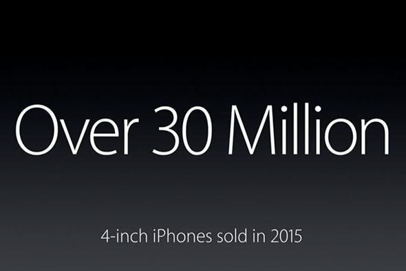 4型iPhoneの売上