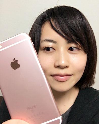 iPhone 6sのローズゴールド
