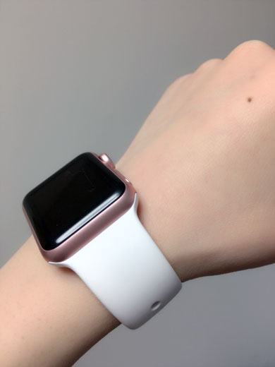 Apple Watchのコーデ例