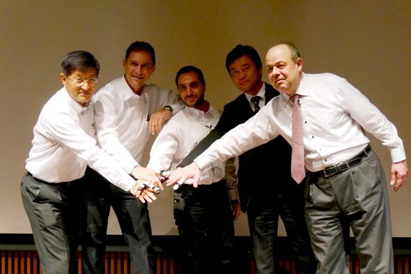 日本展開に意欲を見せるMUV社の面々
