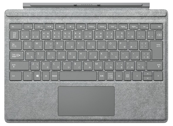 「Surface Pro 4 Signature タイプカバー (Alcantara)」