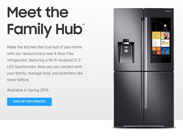 SamsungのFamily Hub
