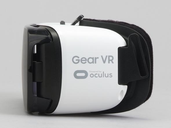Gear VRの左側面