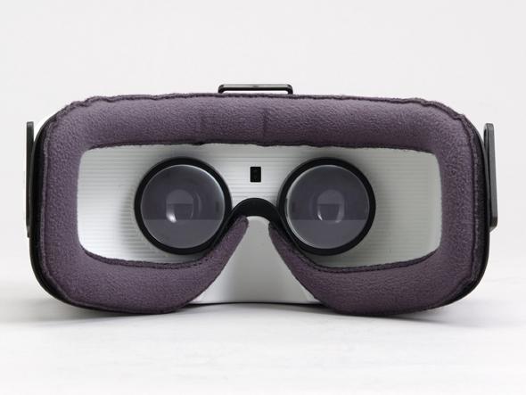 Gear VRの顔装着面