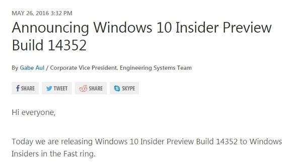 「Build 14352」