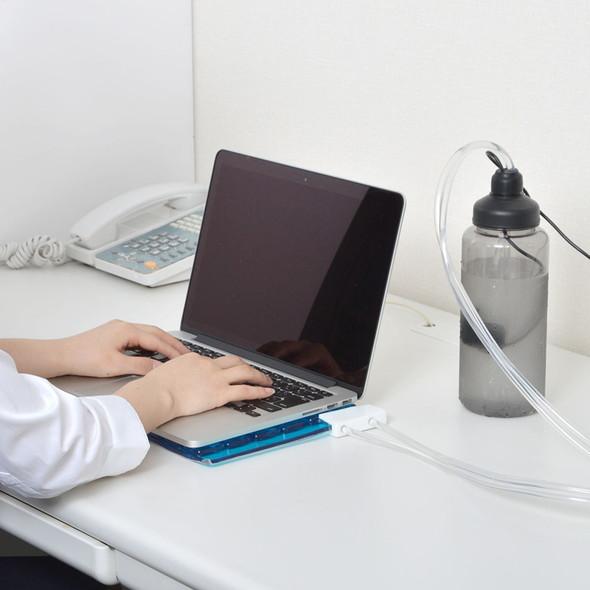 ノートPCも簡単に水冷