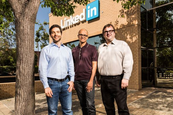 MicrosoftとLinkedIn