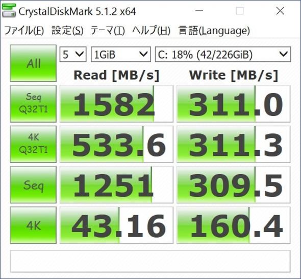 CrystalDiskMark 5.1.2