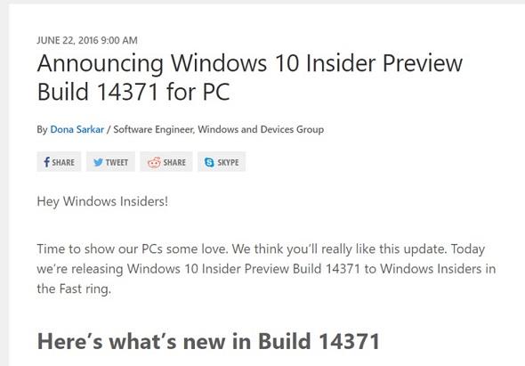 「Build 14371」