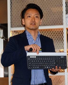 ロジクール クラスターカテゴリーマネージャーの榊山大蔵氏
