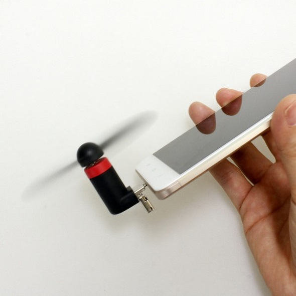 USB/microUSB モバイルファン