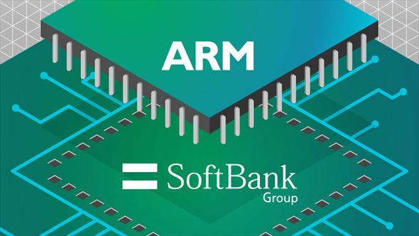 ソフトバンクがARM買収