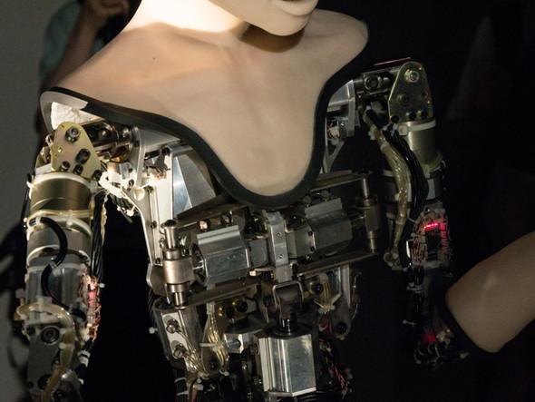オルタの機械部分はモーターとCPGでできている