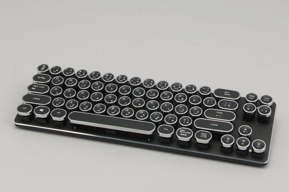 恵安「KFK51N」 タイプライター風なそのデザインが目を引く