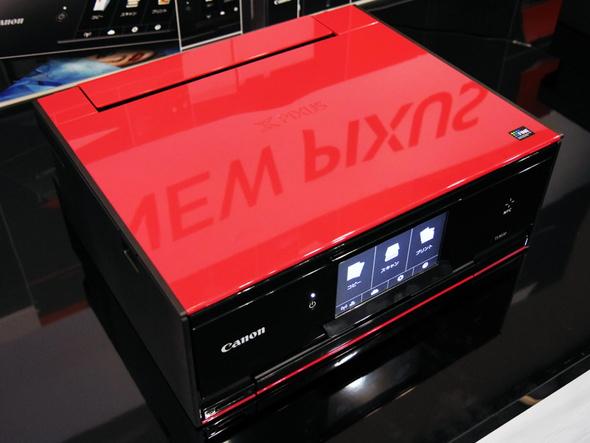 プレミアムデザインモデルとなる「PIXUS TS9030」