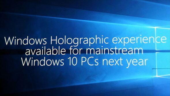 Windows Holographic 3