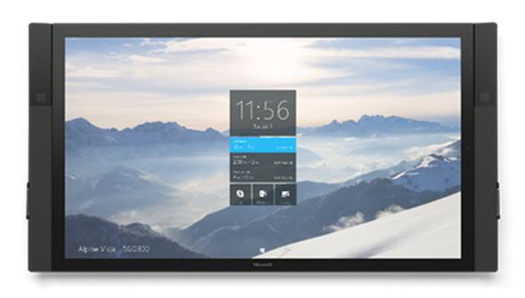 Windows 10搭載の巨大端末「Surface Hub」