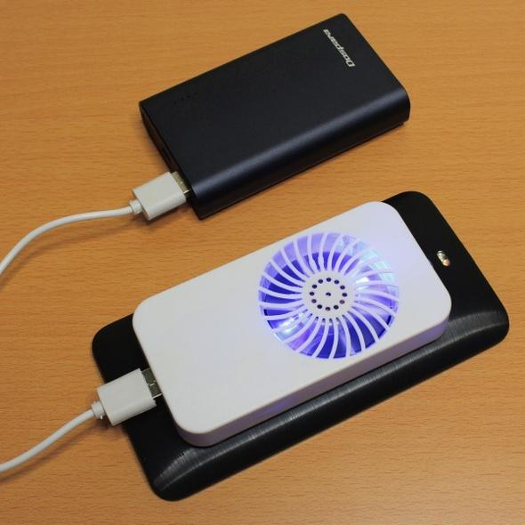 「USBスマホクーラー」