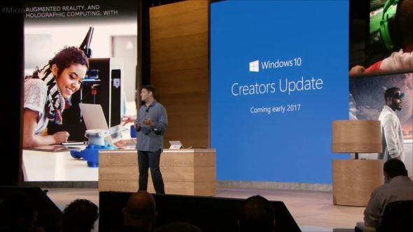 Creators Update 1