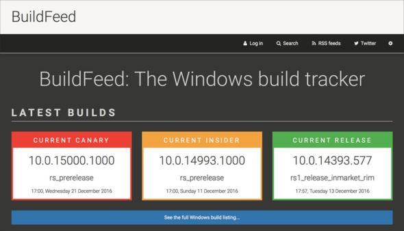 BuildFeed
