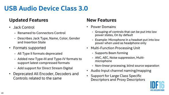 USB Audio Class 3.0