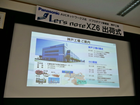 神戸工場の概要