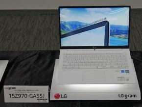 LG gramの15型モデル(15Z970-GA55J)