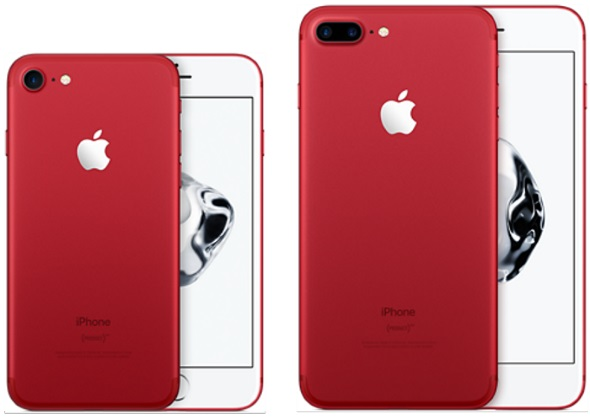 iPhone 7シリーズの(PRODUCT)RED