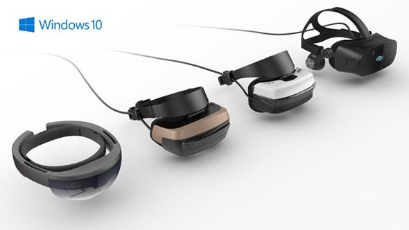 Windows Mixed Reality HMD