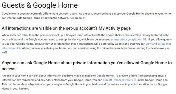 Google Home help