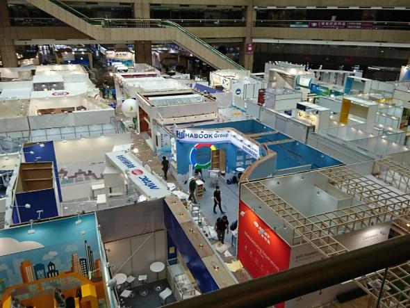 TWTC Exhibition Hall 1の中