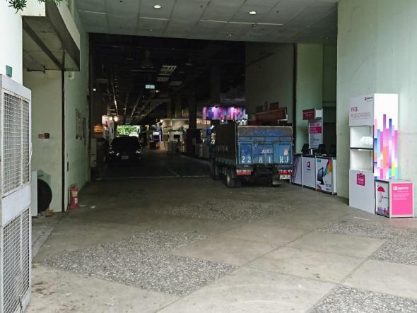 15時頃のWTC Exhibition Hall 3