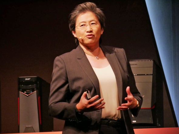 AMDのリサ・スーCEO