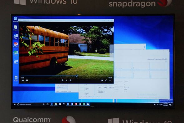 Snapdragon 835 x Windows 10