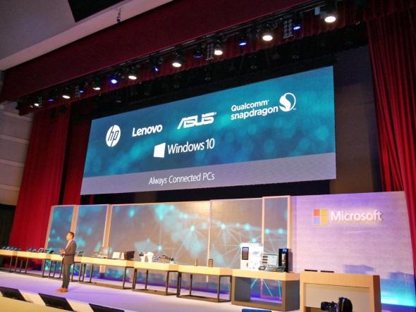 ARM版Windows 10搭載デバイスを発売するメーカー