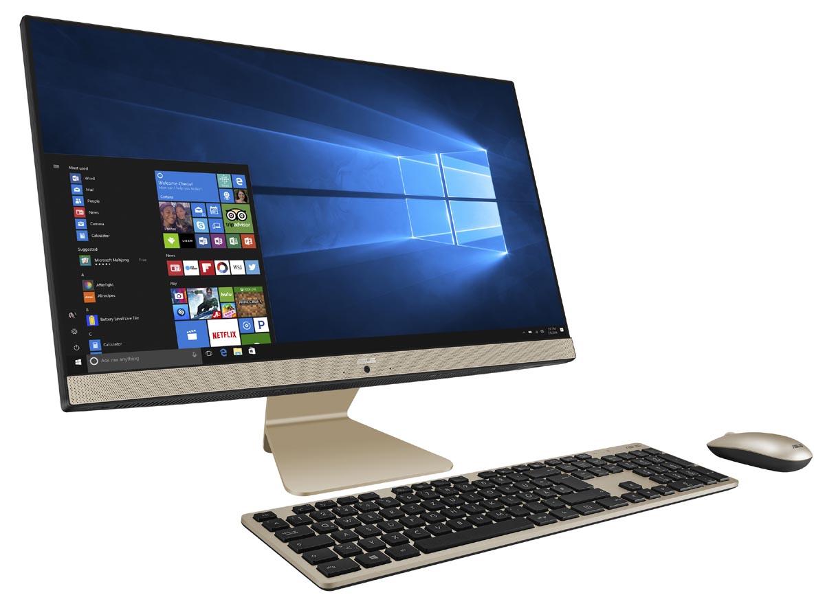 ASUS、23.8型ディスプレイ一体型PC「Vivo AiO V241ICUK」にCore i3搭載の下位モデル