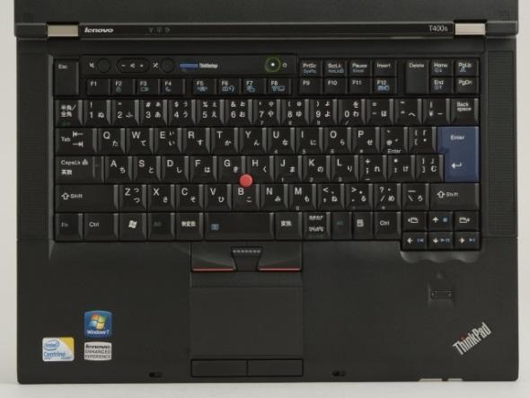 ThinkPad T400sのキーボード