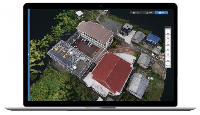 ドローン空撮画像を3Dデータ化してくれるクラウドサービス「くみき」 月額3000円から