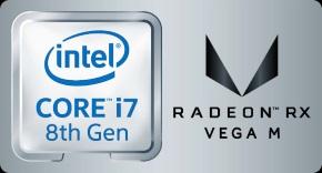 Core i7×Radeon RX Vega Mロゴ
