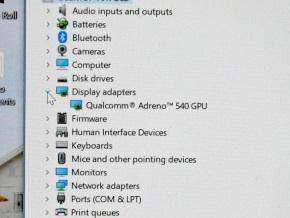 デバイスマネージャー(GPU)